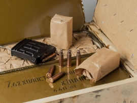 10171 Армейские холостые патроны для ВМ, СВД (7,62х54-мм)