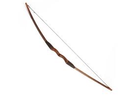 """Лук деревянный взрослый """"Традиционный"""", коричневый, массив ясеня, 170 см 1"""