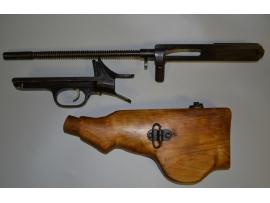 10223 Затворная рама в сборе и спусковая рама с прикладом для пулемета ДП-27