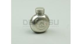 Маслёнка оружейная одногорловая / Округлая металлическая [вм-152]
