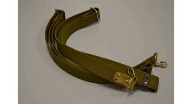 Плечевой ремень для АК /  Ткань военный 1 карабин новый [ак-305]