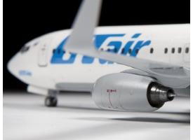Сборная модель ZVEZDA Пассажирский авиалайнер Боинг 737-800, 1/144 1