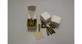 Армейские холостые патроны АК-47, АКМ (7,62х39-мм) / 20 шт. пачка [сиг-369]