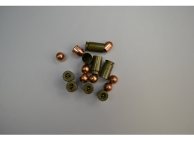 Комплект 9х18-мм (для ПМ) пуля с декапсюлированной гильзой