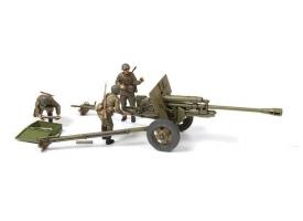 Сборная модель ZVEZDA Советская противотанковая пушка ЗИС-3, 1/35