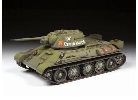 Сборная модель ZVEZDA Советский средний танк Т-34/76 обр. 1942 г., 1/35
