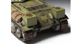 Сборная модель ZVEZDA Советский средний танк Т-34/76 обр. 1942 г., 1/35 3