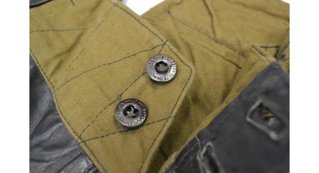 Кожаные галифе автобронетанковых частей и команд бронепоездов РККА