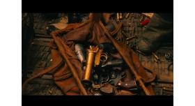 """Ракетница конструкции Molins, Великобритания/Кадр из фильма """"Безумный Макс"""" 2015 г."""