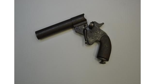 Ракетница системы Chobert,Франция/Оригинал 1920-1930 гг., 26-мм [сиг-140]