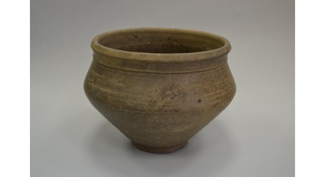 Пищевая ваза черняховской археологической культуры/Оригинал, III век, диаметр 23 см, высота 18 см [др-52]