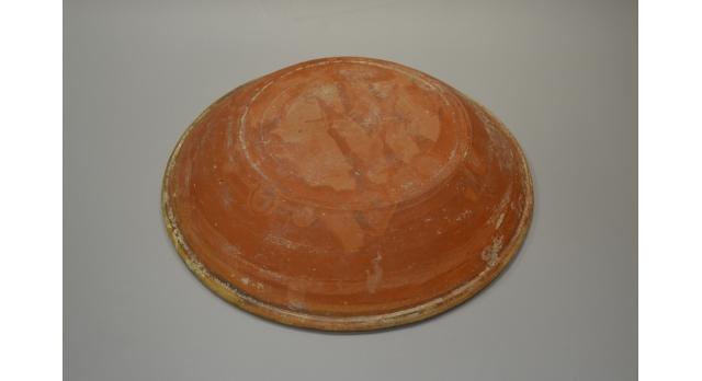 Понтийская краснолаковая сигиллата/Оригинал, Рим, III-IV вв., диаметр 27 см, высота 5 см [др-48]