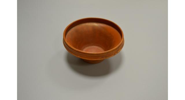 Римская краснолаковая чаша/Оригинал, Римская империя, I-III вв., диаметр 11 см, высота 5,5 см, коническая форма [др-55]
