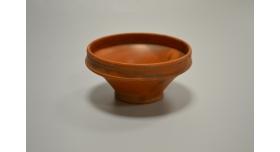 Римская краснолаковая чаша/Оригинал, Римская империя, I-III вв., диаметр 10 см, высота 5 см, коническая форма [др-54]