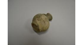 Скифский кувшин для масла/Оригинал, позднескифская культура, III в. до н.э.- III в. н.э., диаметр 8 см, высота 9 см [др-45]