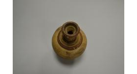 Древнегреческий глиняный сосуд/Оригинал, Древняя Греция, диаметр 8,5 см, высота 13 см [др-43]