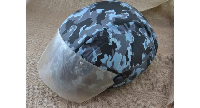 """Шлем защитный """"Колпак-1""""/Синий комуфляж, защита по ГОСТ Р 50744 [шл-1]"""