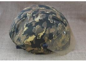 """Шлем защитный """"Колпак-1""""/Серый комуфляж, защита по ГОСТ Р 50744 [шл-3]"""