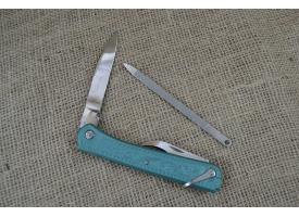 Нож складной трехпредметный длиной 120 мм