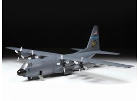 Сборная модель ZVEZDA Американский военно-транспортный  самолёт С-130Н