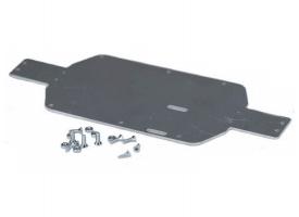 Алюминиевая нижняя пластина усиления для моделей REMO HOBBY 1/16 1
