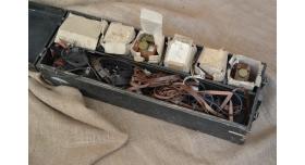 Комплект советских радиостанций Р-147 («Акция»)/Оригинал , 6 шт. в комплекте, в ящике для транспортировки [сн-388]