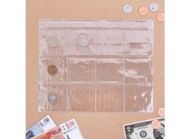 Лист для монет, 12 ячеек
