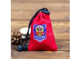 """Набор стопок в мешке """"Россия"""", 30 мл., 3 шт 1"""