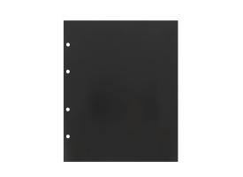 Комплект листов 10 штук, 200х250 мм, промежуточный, чёрный