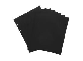 Комплект листов 10 штук, 200х250 мм, промежуточный, чёрный 1