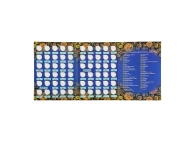 Альбом-планшет для монет «Памятные и юбилейные 10-ти рублевые монеты России» 1