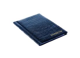 Альбом для монет Calligrata, 125х185 мм на 180 монет, ячейка 35х35 мм, обложка искусственная кожа, микс 1
