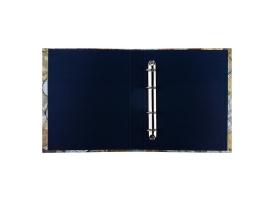 Альбом для монет на кольцах, Оптима, 225х265 мм, обложка ламинированный картон 1