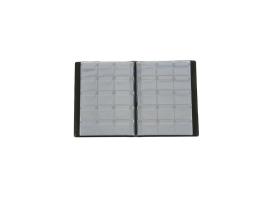 Альбом для монет Calligrata, 125х185 мм на 240 монет, ячейка 35х35 мм, обложка искусственная кожа, микс 1