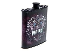 """Фляжка """"Россия"""", 210 мл 1"""