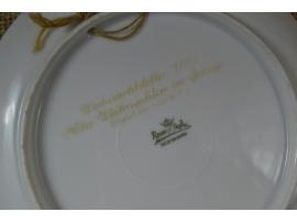 13692 Рождественская тарелка Розенталь (Rosenthal)