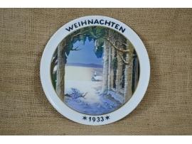 13693 Рождественская тарелка Розенталь (Rosenthal)