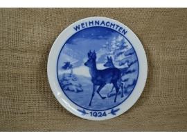 13697 Рождественская тарелка Розенталь (Rosenthal)