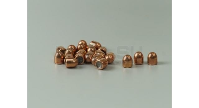 Пули 9х18-мм (для ПМ) [пул-22] Новые оболоченные оживальные