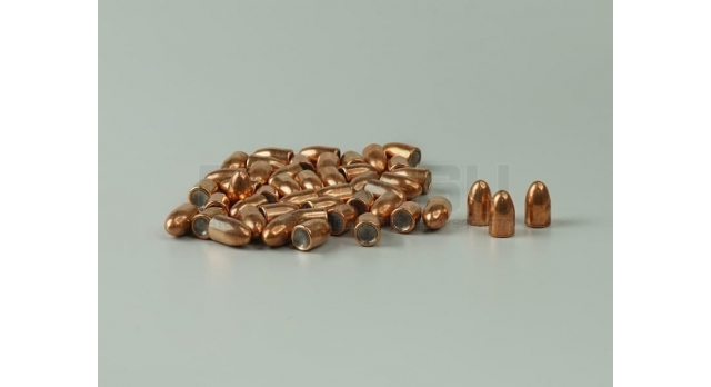 Пули 9х19-мм (Люгер, парабеллум) [пул-10] Новые оболоченные оживальные