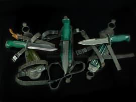 1498 Коллекция ножей разведчика (НО-1, НР-1, НР-2)