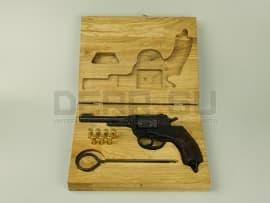 1546 Деревянный футляр для револьвера Наган