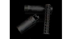 Винтовочный глушитель ТГП-В2 «Шелест» / Оригинал с конусообразным сепаратором [глуш-2/1]