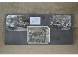 Фотографии застолья советских офицеров в честь победы, 1945 г.