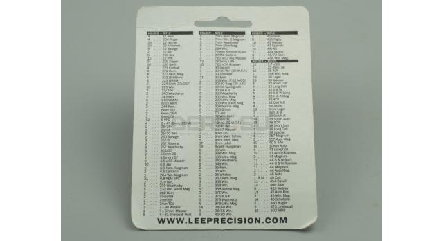 Шеллхолдер Lee / R2 под калибры .308, 8x57, .45 Auto др. новый [мт-418]
