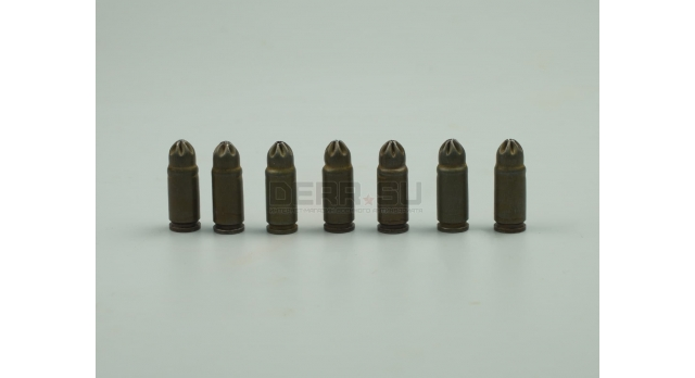 Холостые патроны 7.62х25-мм для ТТ,ППШ,ППС / Стальные без лака (тип 2) [сиг-130/1]
