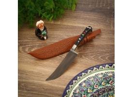 Пчак Шархон, чирчик, рукоять из оргстекла, микс