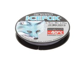 Леска зимняя Balsax Ice Fox, 0,14 мм, длина 30 м