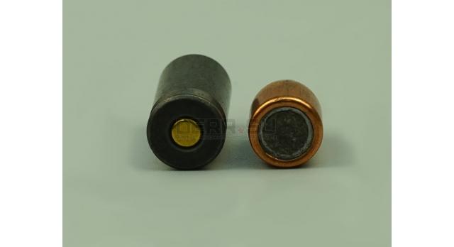 Комплект 11.43х23-мм (.45 Auto) пуля с капсюлированной гильзой / Новый оболоченная пуля со стальной гильзой [мт-404]