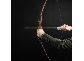 """Лук деревянный, подростковый """"Спортивный"""", коричневый, массив ясеня, 120 см"""